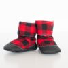 Buffalo Plaid Bootie